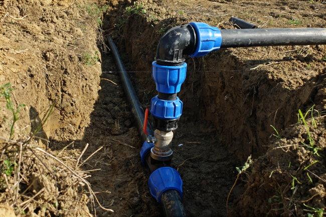 Vanne d'irrigation - Ferme de Videau
