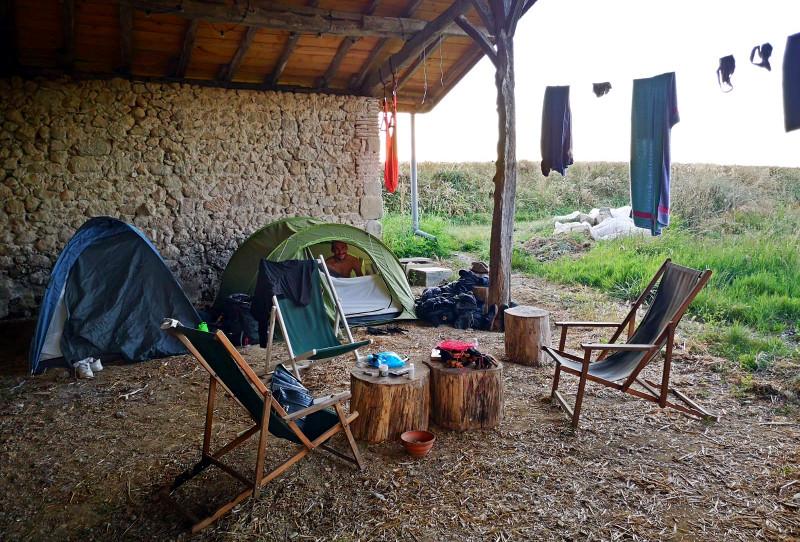 Campement wwoofing - Ferme de Videau